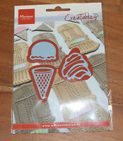 Marianne Creatables LR0365 - ICE CREAMS WITH SCOOPS cutting die