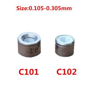 Charmilles Wire Cut EDM Machines C101 C102 Ceramic Electrode Guide 0.105-0.305mm