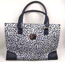 DVF Studio Tote Large Handbag Randa Luggage Magnet Closure Diane Von Furstenberg