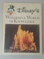 Disney's Wonderful World of Knowledge #8 Treasures of the Earth 1973 HB Book