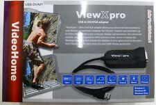 USB to DVI or VGA Converter Adaptor 1920x1080 HD for DIY Multiple-Display Setup