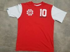 Boys Carbrini Red T-Shirt Top Size 10-12 Years