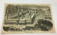 1866 magazine engraving ~ THE CITY OF MECCA