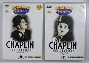 The Chaplin Collection Volume One and Volume 2 DVD TRACKED POST