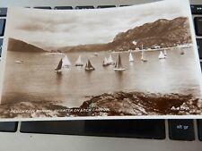 More details for  vintage postcard   p7  c10  plockton  regatta yacht sailing