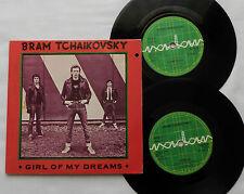 "Bram TCHAIKOVSKY Girl of my dreams UK 2x7"" 45 gatefold cover RADAR Rds power pop"