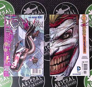 Catwoman #0-16 2011 DC Comics New 52 Nocenti Sandoval Origin + Batman & Joker NM
