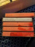 5 Woody Herman radio BROADCASTS CASSETTE TAPE LOT AJAX AJAZZ RARE RECORDING