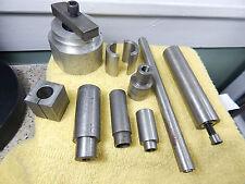 Threaded Aluminum & Steel Machinists Setup Holding/ PressTools,Spacers.Arbors