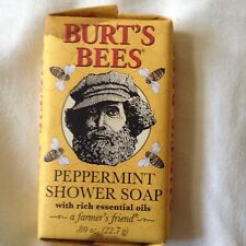 Burts Bees Peppermint Shower Soap .80 Oz NIP HTF