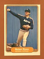 1982 Fleer Nolan Ryan Card #226 NM OC - Astros HOF