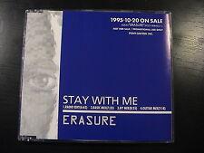 Erasure STAY WITH ME Very Rare JAPAN 4-trk PROMO CD Maxi Single DSP-1158