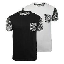 Mens T Shirt Brave Soul Limonov Illuminati Print Crew Neck Cotton Tee