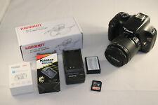 Canon EOS Rebel T3 12.2MP Digital SLR Camera & EF-S 18-55mm Lens w/ AC Adapter