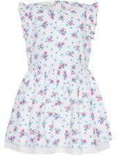 NAME IT Sommer Kleid Valaia weiß rosa klein geblümt Größe 80 bis 110