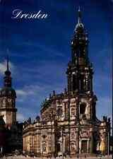 Kirchen Motiv-Ansichtskarte Kirche DRESDEN Katholische Hofkirche Church Saxonia
