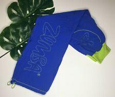 Women's Zumba Pants Sz Medium Blue/Lime