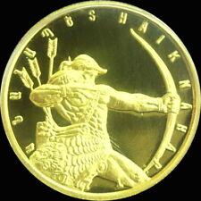 ARMENIA 5000 DRAM GOLD COIN BUNC 2007 Hayk Nahapet