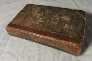 1821 The Drama Theatrical Pocket Magazine Volume 1 - May to Nov Leather Bound
