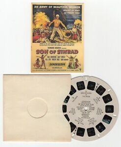 SON of SINBAD Vincent Price Lili St. Cyr Sally Forrest View-Master 3D Movie Reel
