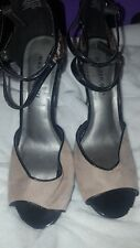 Madden Girl Open Toe Ankle Wrap High Heel Size 10