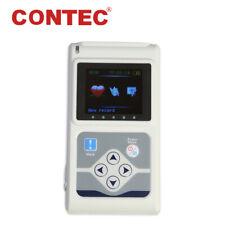 TLC9803 Dynamic ECG waveform Holter Monitor 24 hour 3 lead EKG Recorder& Analyze