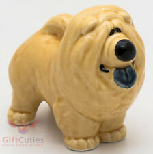 Porcelain Figurine of the Chow Chow Dog