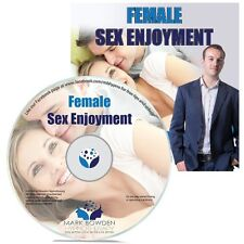Female Sex Enjoyment Hypnosis CD + FREE MP3 VERSION enjoy better orgasms