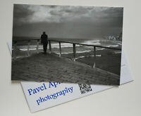 Signed collectible postcard with photograph by Pavel Apletin Tel-Aviv Israel