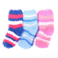 Winter Warm Baby Striped Towel Socks Warm socks Kids Towel Thick Socks  CE