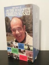 FACTORY SEALED The Best of On the Road with Charles Kuralt 3 VHS Box Set, 1993