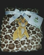 DISNEY BABY THE LION KING SIMBA URBAN JUNGLE BLANKET