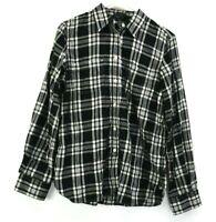Lauren Jeans Co. by Ralph Lauren Men's Medium Long Sleeve Plaid Button Up Shirt