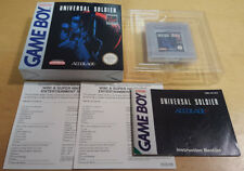 UNIVERSAL SOLDIER for NINTENDO GAME BOY COMPLETE & IN VGC PAL UKV by Accolade