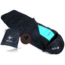 Sleeping Bag Cover Camping Hiking Pouch Waterproof Windproof Sack Free Size