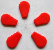 5 Nadeleinfädler Einfädler mit Kst.-Griff rot