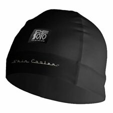 DeSoto Skin cooler helmet Liner beanie cap Insulates, absorbs evaporates BLACK
