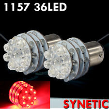 1157 Red 36-LED Turn Signal Corner/Tail Lights Blubs 1157A 2357A