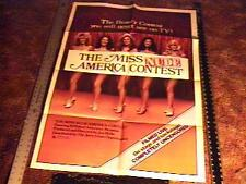 MISS NUDE AMERICA CONTEST MOVIE POSTER SEXPLOITATION