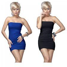 Ärmellose Mini-Damenkleider im Tuniken-Stil