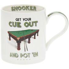 Cheeky Sports Mug Snooker