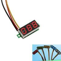 Mini DC 0-100V 3-Wire Voltage Volt Meter Voltmeter LED Panel Digital Display