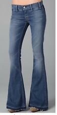 NWT $225 TEXTILE ELIZABETH AND JAMES C16 Blue Jimi Distressed Boot Cut Jeans 30