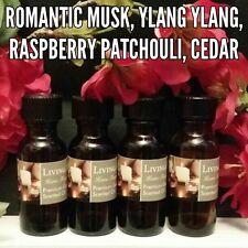 Assorted FavoritesScented Fragrance Burning Oils Set of 4 1/2oz