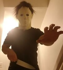 High Quality Michael Myers Mask Halloween Cosplay Adult Latex Full Face Scary