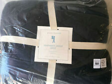 Pottery Barn Kids Jersey Twin Quilt Navy Blue NEW