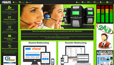 Style 3011 Ready Made Reseller Webhosting Website Free Billing System Included
