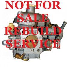 Zenith Stromberg Carburetor Rebuilding Service for '70-'80 Triumph Spitfire Carb