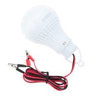 DC 12V 7W LED bulb General light bulb type Home / camp / hiking / emergency I9O4