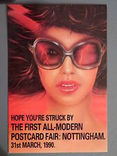 R&L Modern Postcard: Nottingham Modern Postcard Fair 1990, Art, In the Pink